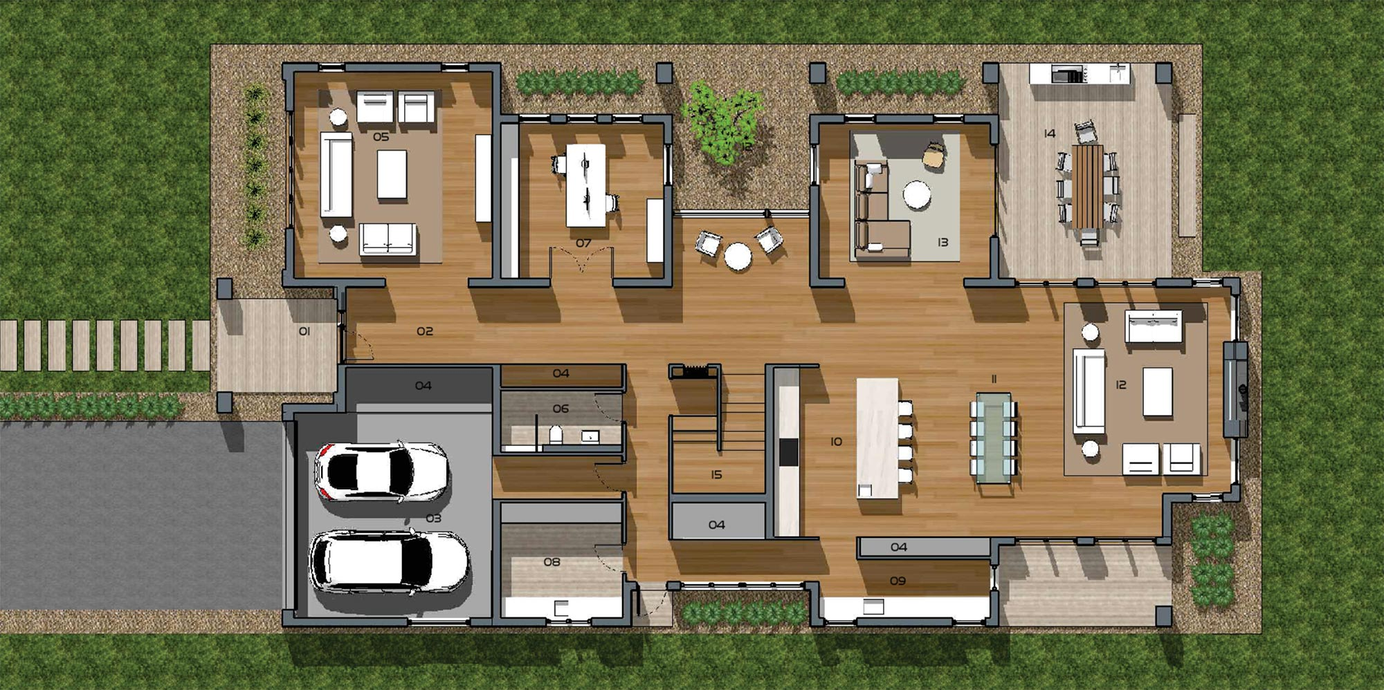 Emberlee 6 Bedroom Ground Floor Plan